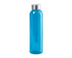 Skleněná sportovní lahev na pití TERKOL, 500 ml - modrá