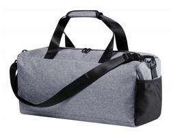 Polyesterová sportovní taška LUTUX - šedá