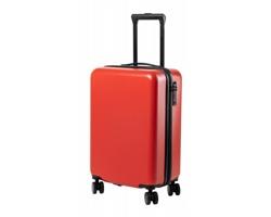 Kufr na kolečkách HESSOK s teleskopickým madlem - červená