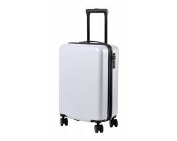 Kufr na kolečkách HESSOK s teleskopickým madlem - bílá