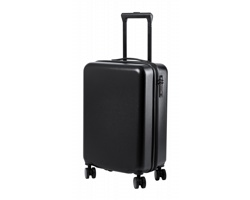 Kufr na kolečkách HESSOK s teleskopickým madlem - černá