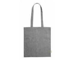 Látková nákupní taška GRAKET z recyklované bavlny - šedý melír