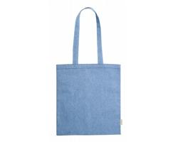 Látková nákupní taška GRAKET z recyklované bavlny - modrá