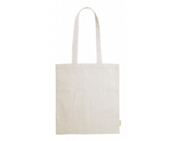 Látková nákupní taška GRAKET z recyklované bavlny - béžová