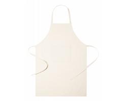 Kuchařská zástěra RIFFOX z organické bavlny - béžová