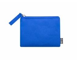 Polyesterová peněženka NELSOM z recyklovaného materiálu - modrá
