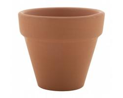 Terakotový květináč se semínky SOLTAX - přírodní