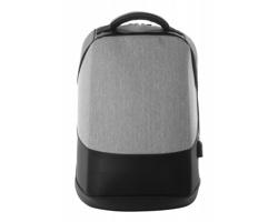 Voděodolný batoh BILTRIX s ochranou proti vykradení - šedý melír / černá
