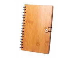 Poznámkový blok PALMEX s bambusovými deskami - přírodní
