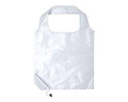 Polyesterová skládací nákupní taška DAYFAN - bílá
