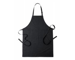 Polyesterová kuchařská zástěra KONNER - černá