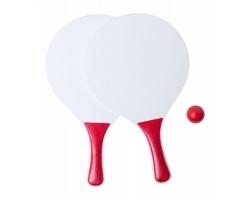 Sada na plážový tenis KONGAL - červená / bílá