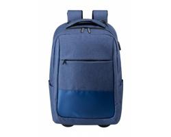 Cestovní batoh na kolečkách HALTRIX - tmavě modrá