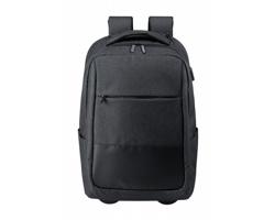 Cestovní batoh na kolečkách HALTRIX - černá