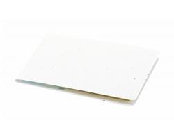 Sada lístků na poznámky TINSAL s obálkou se semínky petúnie - bílá