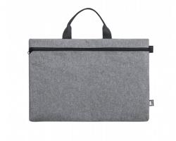 Taška na dokumenty DIVAZ z recyklovaného materiálu - šedý melír