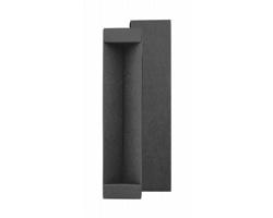 Papírová krabička na kuličková pero KYRA - černá