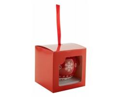 Vánoční ozdoba TROMVIK - červená / bílá