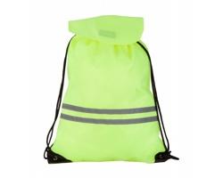 Stahovací batoh CARRYLIGHT s reflexními pruhy - bezpečnostní žlutá