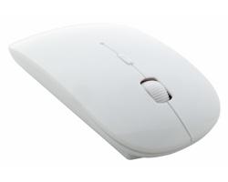 Bezdrátová plastová optická myš WLICK - bílá
