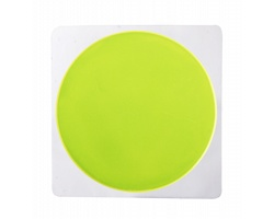 Plastová reflexní samolepka RANDID - bezpečnostní žlutá