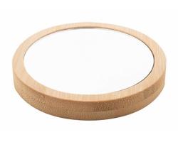 Bambusové kapesní zrcátko MAKEBOO - přírodní