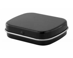 Plechová krabička s mentolovými bonbóny FLICKIES - černá