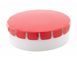 Plastová krabička s mentolovými bonbóny CLICKTOO - červená