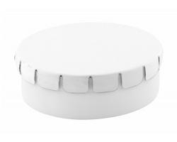 Plastová krabička s mentolovými bonbóny CLICKTOO - bílá