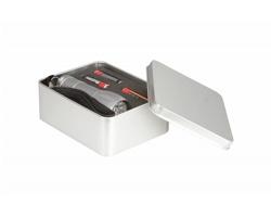 Kovová LED svítilna REFLECTOR - stříbrná