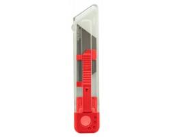 Plastový odlamovací nůž RAPICUT - červená