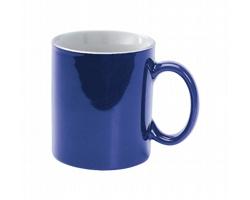 Keramický hrnek BERGEN, 300 ml - modrá / bílá