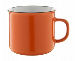 Retro hrnek WOODSTOCK - oranžová
