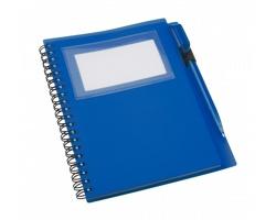 Poznámkový blok TAGGED s kuličkovým perem - tmavě modrá