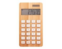 Bambusová kalkulačka BOOCALC - přírodní
