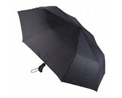 Automatický skládací deštník ORAGE - černá