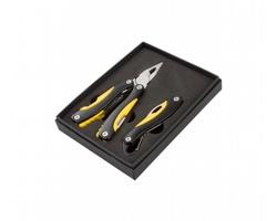 Sada multifunkčního nářadí a nože FACTORY - černá / žlutá