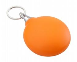 Čisticí hadřík na brýle SIGHT v plastovém pouzdru - oranžová