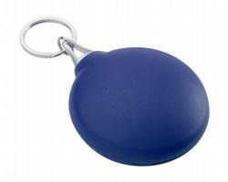 Čisticí hadřík na brýle SIGHT v plastovém pouzdru - modrá
