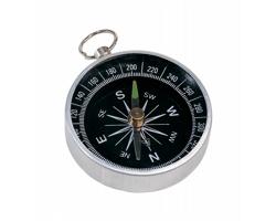 Kovový kompas NANSEN - stříbrná