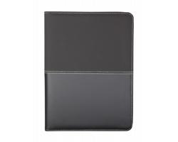 Konferenční desky DUOTONE ZIP, formát A4 - černá