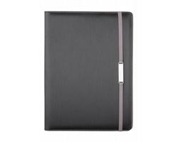 Konferenční desky BONZA se stojánkem na iPad®, formát A4 - černá