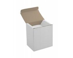 Papírová krabička na hrnek UNIVER - bílá
