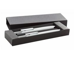 Dárková sada kovových psacích potřeb GLAMY - bílá