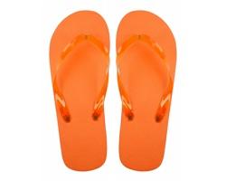 Plážové žabky VARADERO - oranžová