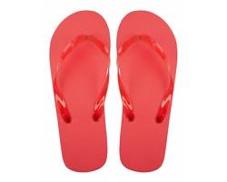 Plážové žabky VARADERO - červená