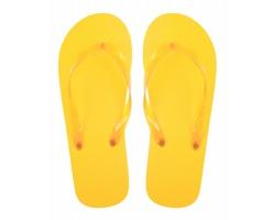 Plážové žabky VARADERO - žlutá