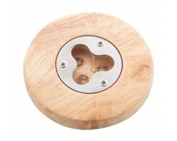 Dřevěný otvírák lahví BIERBASS - přírodní