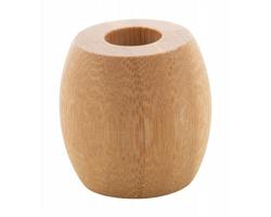 Bambusový stojánek na zubní kartáček DENTARIUS - přírodní