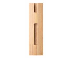 Papírové pouzdro na pera TSUBO se vzorem bambusu - béžová